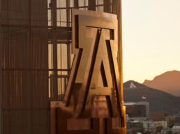 Arizona logo on the building
